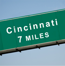 Southeast Indiana, the affordable Cincinnati address.
